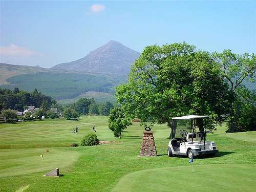 Brodick Golf Course, Isle of Arran