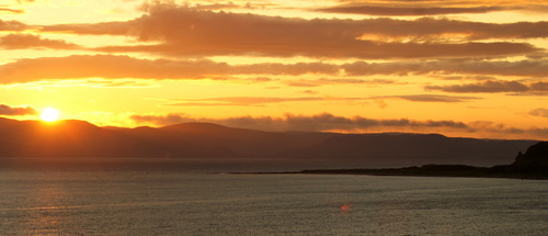 Sunset, Blackwatwaterfoot, Isle of Arran
