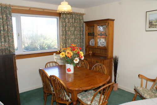 Dining Area in Hill View Self Catering, Shiskine