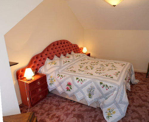 Double bedroom at Hill View Self Catering, Shiskine, Isle of Arran