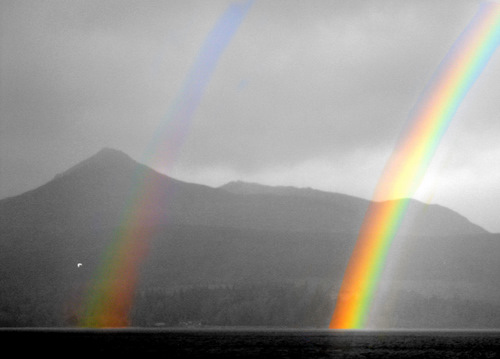 Rainbow, Brodick, Isle of Arran