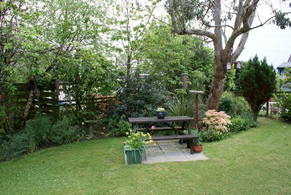 Hillview garden, Isle of Arran